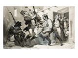 William Scoresby Escapes from Spanish Gaol Giclee Print by McConnell