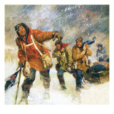 Scott's Expedition to the South Pole Giclee Print by English School