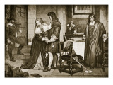 The Parting of Lord and Lady Russell, 1683 Giclee Print by Charles West Cope