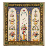 Decorative Design for a Garden Arbour or Loggia Giclee Print by French School