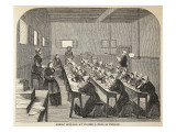 Girls' School at Tothill Fields Prison Giclee Print by  English School