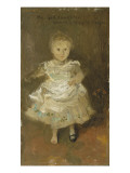 Portrait of Dorothy Whistler Menpes Giclee Print by James Abbott McNeill Whistler