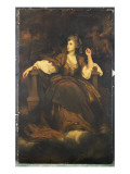 Mrs. Siddons as 'The Tragic Muse' Reproduction procédé giclée par Joshua Reynolds