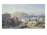 Naples, 19th Century; Watercolour; Giclee Print by William Leighton Leitch