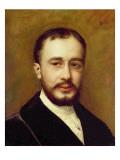 Portrait of Toulouse-Lautrec Giclee Print by Charles Émile Carolus-Duran