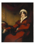 Portrait of Mrs Elizabeth Stewart Richardson Giclee Print by Sir Henry Raeburn