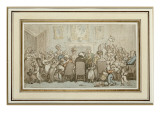 The Breedwell Family, 1807 Giclee Print by  Rowlandson
