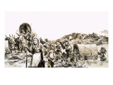 Towards a Promised Land, 1972 Giclee Print by Gerry Wood