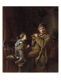 The Earnest Pupil, 1881 Reproduction proc&#233;d&#233; gicl&#233;e par Eastman Johnson