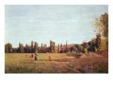 La Varenne De St. Hilaire, 1863 Stampa giclée di Camille Pissarro