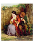 Moment of Suspense, 1861 Giclee Print by George Smith
