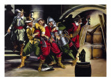 The Gunpowder Plot Giclee Print by Ron Embleton