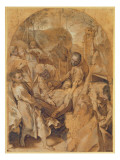 The Entombment Giclee Print by Federico Barocci