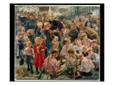 The Ages of the Worker Reproduction procédé giclée par Leon Henri Marie Frederic