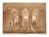 Palazzo Barberini, 1833 Giclee Print by Agostino Tofanelli