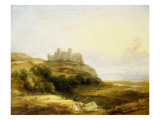 A View of Harlech Castle Giclee Print by James Stark