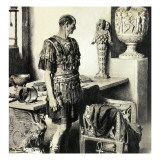 The Day That Caesar Died Giclee Print by Fortunino Matania