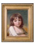 Portrait of a Girl Giclee Print by  Romney