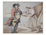 A Shrimp, Sir, 1799 Giclee Print by  Rowlandson