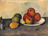 Still Life with Apples, C.1890 Giclée-tryk af Paul Cézanne