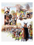 Anglo-Saxon Spies Giclee Print by Eric Parker