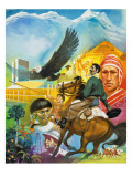 The Story of South America Giclee Print by  Mcbride
