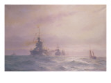 2nd Battle Squadron&#39;, 1914 Giclee Print by Alma Claude Burlton Cull