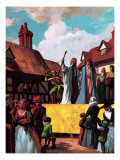 The Days before Shakespeare Giclee Print by Ralph Bruce