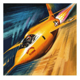 Breaking the Sound Barrier Giclee Print by Wilf Hardy