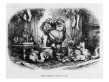 The Coming of Santa Claus, 1872 Giclee Print by Thomas Nast