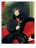 Portrait of King George Iv Giclée-tryk af Thomas Lawrence