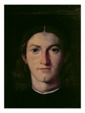 Portrait of a Young Man, 1505 Giclee Print by Lorenzo Lotto