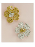 Pair of Flower-Head Brooches Giclee Print