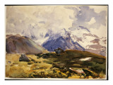 The Simplon, C.1910 Giclee Print by John Singer Sargent