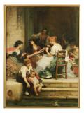 Venetian Life, 1884 Giclee Print by Sir Samuel Luke Fildes