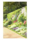 The Artist's Garden Giclee Print by Joseph Farquharson