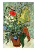 Ramo de Flores Salvajes Lámina giclée por Vincent van Gogh