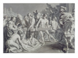 The Discovery of the True Cross Giclee Print by Johann Georg Rudolphi