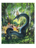 The Dragon of Birchwood Giclee Print by Mcbride 