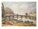 Bridge of Arches, Liege Giclee Print by William Alfred Delamotte