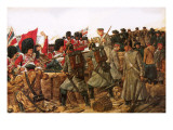 Battle of the River Alma Giclee Print by Richard Hook