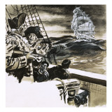 Sighting of a Ghost Ship Giclee Print by Ralph Bruce