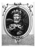 Portrait of Merovech Giclee Print by Nicolas de Larmessin