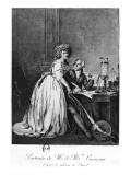Antoine Laurent Lavoisier Giclee Print by Georges Ernest Profit