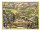 View of Alhama, 1576 Giclee Print by Joris Hoefnagel