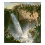 The Falls of Tivoli Giclee Print by Michael Wutky