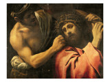 Christ Carrying the Cross Giclée-tryk af Annibale Carracci