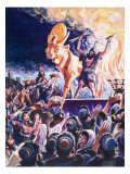 Worshipping False Gods Giclee Print by Robert Forrest