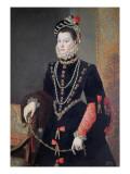 Elizabeth De Valois, 1604-8 Giclee Print by Alonso Sanchez Coello