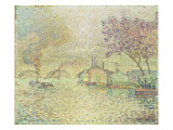 The Viaduct at Auteuil, C.1900 Giclee Print by Paul Signac